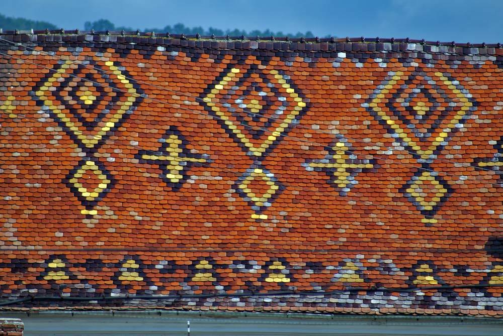 Acoperisul bisericii ortodoxe din Șibot